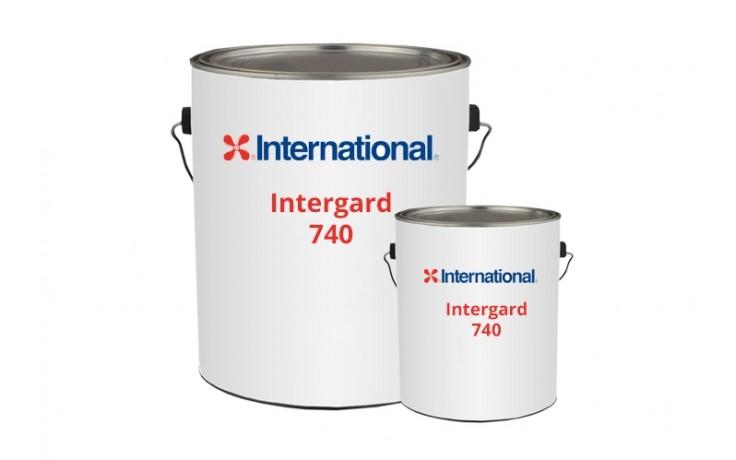 Intergard 740 - Антикоррозионная эпоксидная эмаль