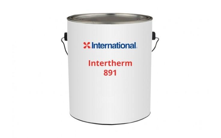 Intertherm 891 - масляно смоляное термостойкое покрытие